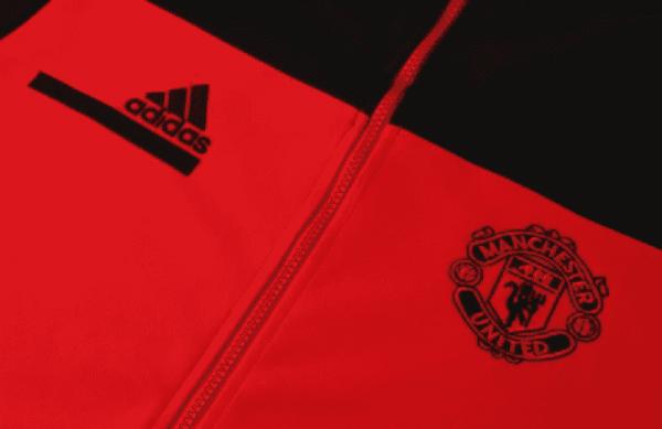 mzhki sporten ekip adidas manchester united tracksuit 15721