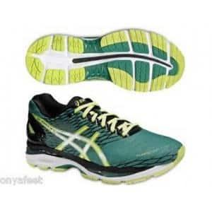 Мъжки зелени маратонки Asics GEL NIMBUS 18