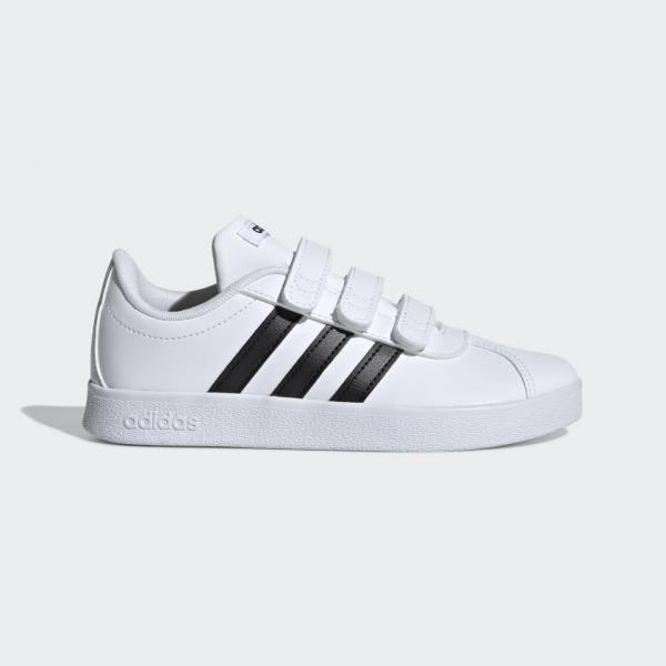 originalni detski obuvki adidas vl court 2 cmf 13806