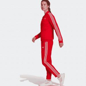 Дамски оригинален анцуг Adidas ESSENTIALS 3-STRIPES TRACK SUIT
